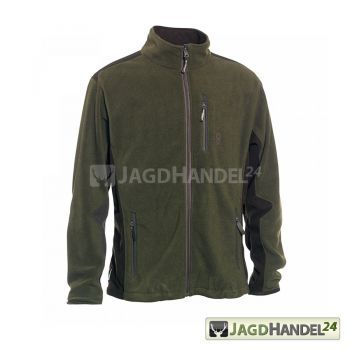 Deerhunter Muflon Zip-In Fleece jacke Art Grün 376