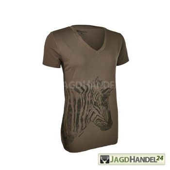 Blaser T-Shirt Zebra Damen olive
