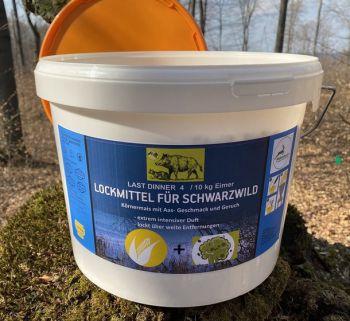 WILDLUTSCHER Last Dinner Nr. 4 Körnermais mit Aas Duftkonzentrat (Sauen + Raubwild) 10kg Eimer
