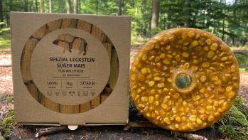 Wildlutscher Spezial Leckstein Süßer Mais für alle Wildarten 3kg