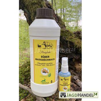 WILDLUTSCHER Köderspray Zuckermais Duft 50ml speziell für Schalenwild