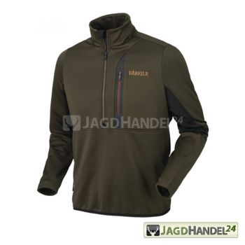 HÄRKILA Tidan Hybrid Fleecepullover Willow green/black