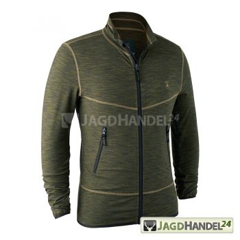 Deerhunter Norden Insulated Fleecejacke Green Melange