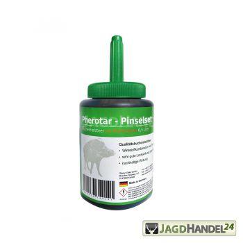 SEVEN OAKS Pherotar Pinselset 0,5 L Buchenholzteer mit Perhomonen