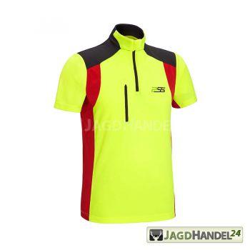 PSS Funktionsshirt X-treme Skin Kurzarm gelb/rot