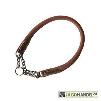 Halsband Elchleder Braun