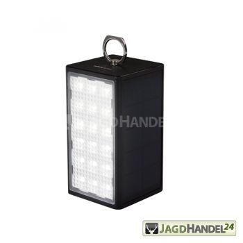Solar Powerbank mit Leuchte SL-10600 schwarz